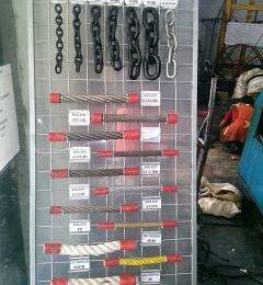 Jual aneka wire rope sling rantai murah di jabodetabek, wa 081319823277