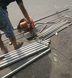 Pipa steinless steel besi potongan murah,wa 081319823277
